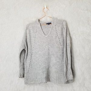 American Eagle Jegging Fit Knit Hooded Sweater